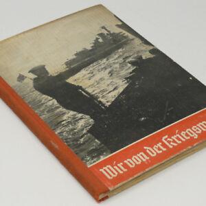 German Kriegsmarine Remembrance Photo Book 1939 w/many pre-WW2 naval photos Navy