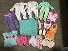 Bitty+Baby+Clothes+Outfits+Lot+One+Piece+Pajamas+Bottle+Blanket+Bibs