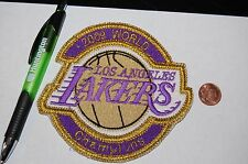 """Los Angeles Lakers 2009 World Champions 5"""" Logo Patch Basketball"""