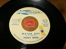 TEDDY ROSS - WATER BOY - AIN'T THAT LOVE  / LISTEN - JAZZ POPCORN