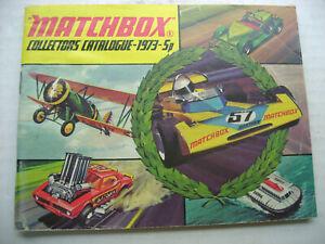 1973-5P MATCHBOX SUPERFAST COLLECTORS CATALOGUE CATALOG