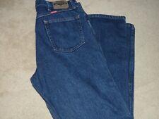 """Wrangler Men's Denim Blue Jeans Reg Fit - 38"""" x 32"""""""