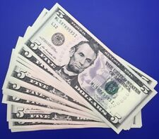 Etats-Unis, USA, Billet 5 dollars 2013 NEUF