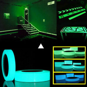 Luminous Tape Fluorescent Glow in Dark Wall Decorative Self Adhesive Sticker