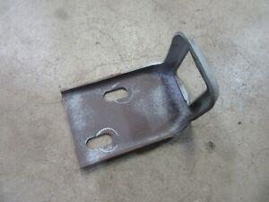 1960 Ford Galaxie rear trunk lid lock latch catch plate mount bracket hot rod