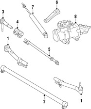 Genuine Ford Drag Link BC3Z-3304-A