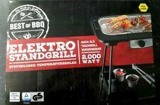 Best of BBQ 2in1 Elektro Stand- und Tischgrill 2.000 W