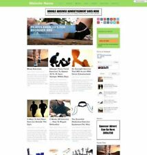 EXERCISE STORE - Business Website For Sale Mobile Friendly Responsive Design