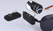 Wearable Vidicon 720P High Quality DV DVR spy Sun glasses Camera Audio Video