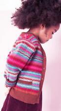 -50% Oilily ~ Cashmere Cardigan ~ talla 110/5y ~ kesie ~ Pink-marrón ~ Wi 16/17 ~ NP 129,95 € ~ nuevo