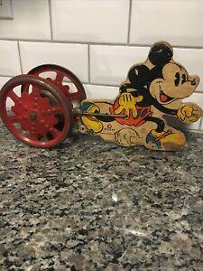 Vintage Walt Disney Mickey Mouse Bell Ringer W.Disney Ent.