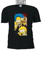 The Simpsons Lovers Movie Men Women T-shirt Unisex V72