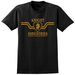 Knight Industries Rider Inspired T-shirt - 80s TV Show Retro Classic Tee Hoff