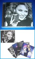 KYLIE MINOGUE, The Abbey Road Sessions, CD + 4 promo art cards, SEALED, artcards