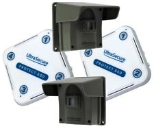 Long Range (800 metro) Wireless Vialetto proteggere Alert (800) KIT Twin