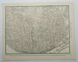 1938 Vintage ST LOUIS Authentic Antique Atlas Map - Collier's World Atlas