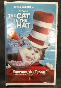 The Cat In The Hat (VHS, 2002) Classic Family Movie / Mike Myers