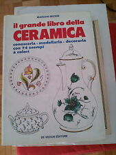 LIBRO IL GRANDE LIBRO DELLA CERAMICA MARIANI MIONE DE VECCHI EDITORE 1982