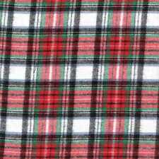 05188 Woven Christmas Red Green - Flannel Fat Quarter