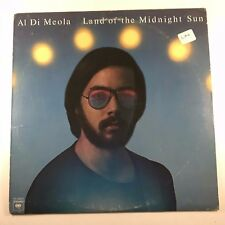 Al Di Meola ‎– Land Of The Midnight Sun VINYL LP VG / VG PC 34074 JAZZ FUSION