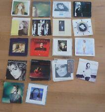 45 T LOT SANDRA de 53 vinyles différents Cretu