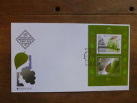 BULGARIA 2016 EUROPA THINK GREEN 2 STAMP MINI SHEET FDC FIRST DAY COVER