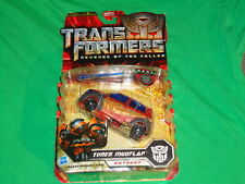 Transformers REVENGE OF THE FALLEN DELUXE CLASS AUTOBOT  N.E.S.T. TUNER MUDFLAP