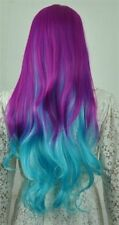 Title1136 Cosplay My Little Pony Rainbow Dash multi color Heat Resistant wig
