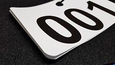 50 Tags Car Service Dealer Parking Tag Numbers Hotel Parking Valet Number