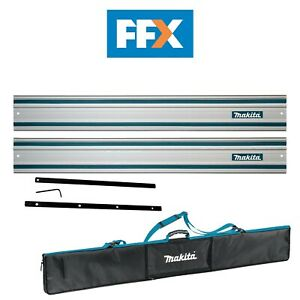 Makita 5440940/2 Pack of 2 1.4m Guide Rails with Connectors and Bag