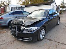 BMW 520D SE 2013 AUTO DAMAGED F10 REPAIRABLE