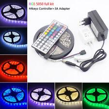 Waterproof 300 leds RGB LED Strip Light 5M 5050 SMD 12V LEDStrip IR Controller