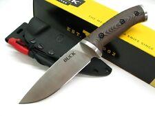 Couteau Buck Selkirk Survival Knife 420HC Manche Micarta Allume Feu BU863BRS