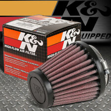 """K&N RU-2580 CLAMP-ON ROUND TAPERED COTTON GAUZE 2""""ID AIR INTAKE PIPING FILTER"""