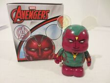 "Disney Vinylmation 3"" Marvel Avengers Vision Common Eachez Collectible Figure"
