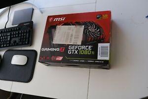 MSI GeForce GTX 1080 Ti Gaming X 11 GB GDDR5X Graphics Card
