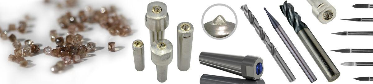Abrichtdiamant Diamantabrichter Vielkornabrichter Mehrkornabrichter MK0 mit Kopf