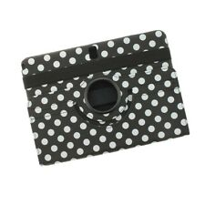 Cover case funda dots Black & White Samsung p6000 galaxy note 10.1 Tablet