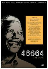 46664. The Event. NEW SEALED. Nelson Mandela. 2 Disc Dvd Set. Regions 2,3,4,5,6