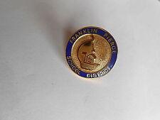 Cool Vintage Franklin Pierce School District Tacoma Washington Pin Pinback