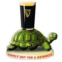 Guinness Tortoise Resin Figurine/ Statue 95mm x 95mm (sg)