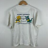 VINTAGE Australian University Games Shirt Adult Medium Sydney Uni 1995 Darwin
