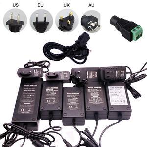 110V 220 TO12V 5V 24V Power Supply DC Adapter 1A 2A 3A 5A 6A 8A For led strip