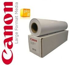 "4 ROTOLI Canon Photo inkjet Large Format Satin Paper 17"" 432mm x 30 M"