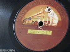 """78rpm 12"""" COLDSTREAM GUARDS - MACKENZIE ROGAN march of the silver trumpets C 117"""