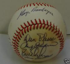 1986 MILWAUKEE BREWERS - Team signed ball 21 Autograph PSA Paul Molitor Sveum