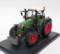 Hachette 1/43 Scale Model Tractor HT064 - 2007 Fendt 820 Vario - Green