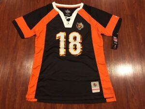 Majestic Women's AJ Green Cincinnati Bengals Draft Him NFL Jersey Middle M