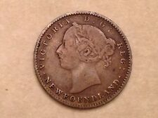 - Canada  Newfoundland 1888  Ten 10 Cents Victoria - Only 30,000 Minted