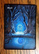 Magic MTG altered art Hobbit Lord of the Rings Gates of Moria Island
